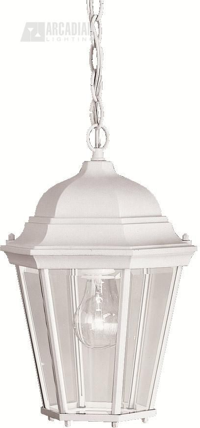 Kichler Lighting 9805WH Madison Traditional Outdoor Hanging Light KCH-9805-WH