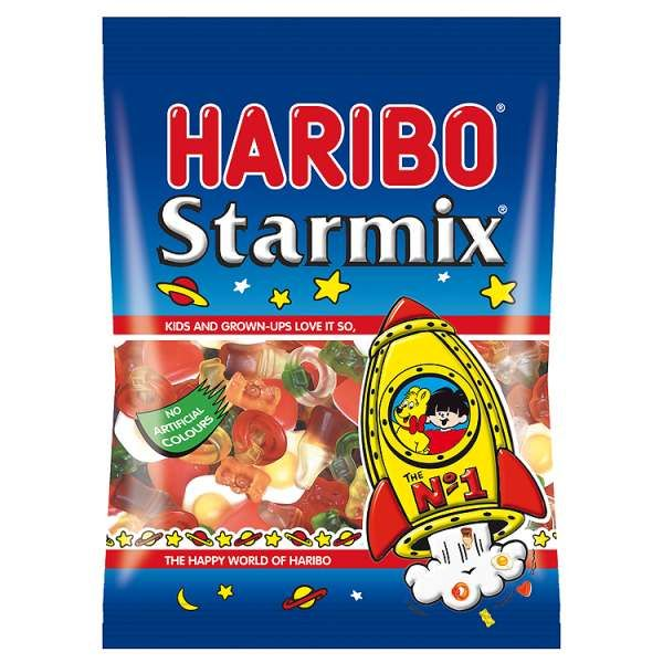 I'm a veggie. To all meat eaters out there, no, Haribo is not banned from a veggie's diet!