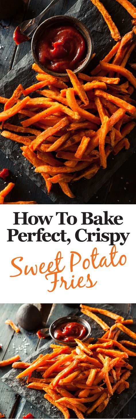 Oven temp is 375-410°F at 30-40 min. Here's some top tips to help you bake the crispiest, tastiest sweet potato fries you've ever eaten!