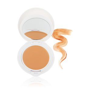 Avene High Protection Tinted Compact SPF 50 - Beige at DermStore -- This compact is sunscreen first, foundation second. It combats UVA/UVB rays with an SPF of 50 while leaving our visages with healthy, natural glows. Especially suited for those with ultra-sensitive skin, this mineral formula is hypoallergenic and non-comedogenic.