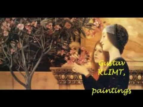 SAINT-SAËNS Symphony No.3  ' Organ '  MUNCH  with KLIMT paintings