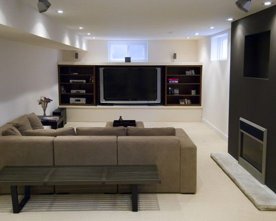 67 Best Images About Basement Inspiration On Pinterest