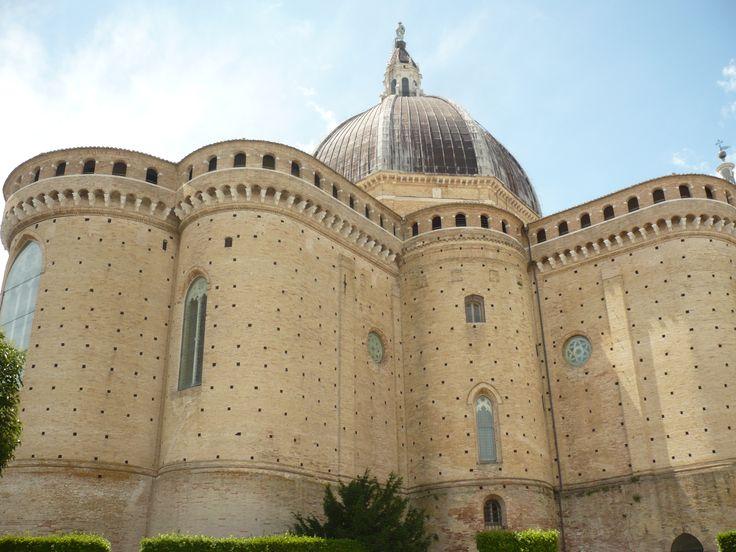 LORETO (Italie) 2016 Arrière de la basilique