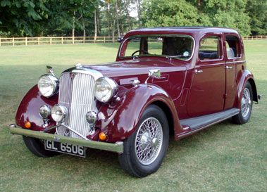 1938 Rover 20 Sports Saloon (P2)