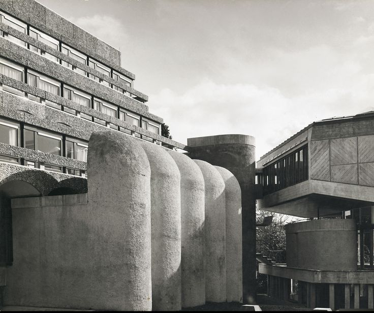 Photograph of St Peter's College from the Gillespie, Kidd & Coia Archive in the Glasgow School of Art Archives and Collections (Archive reference: GKC/CC/2/4/2)
