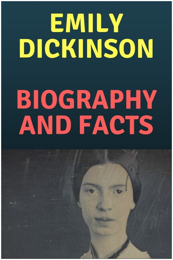 emily dickinson facts