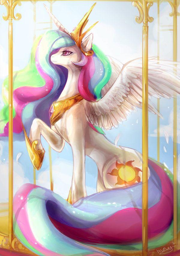 Gorgeous Princess Celestia!