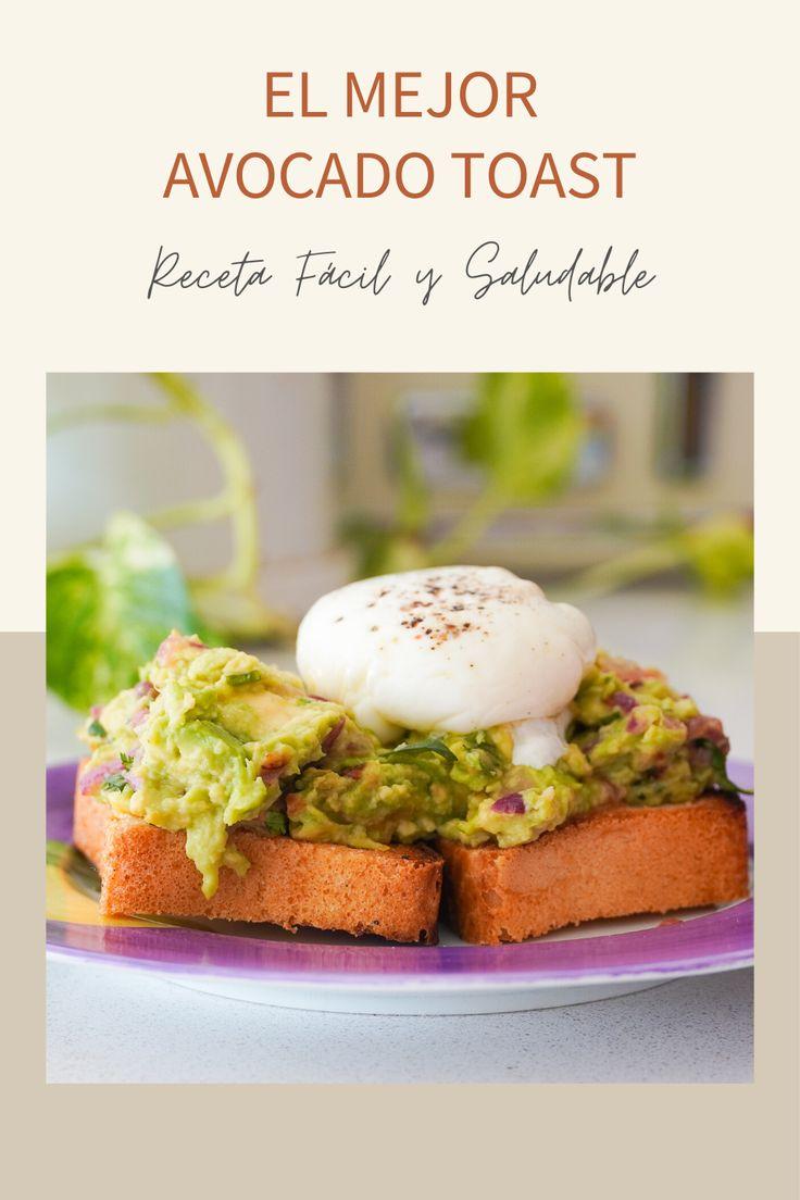 RECETA AVOCADO TOAST, Foto avocado toast, como hacer huevo poche, como hacer un buen desayuno nutritivo, desayuno de fin de semana, desayuno en la cama Tostadas, Eggs, Breakfast, Ideas, Food, French Toast, Scrambled Eggs, Healthy Living, Essen