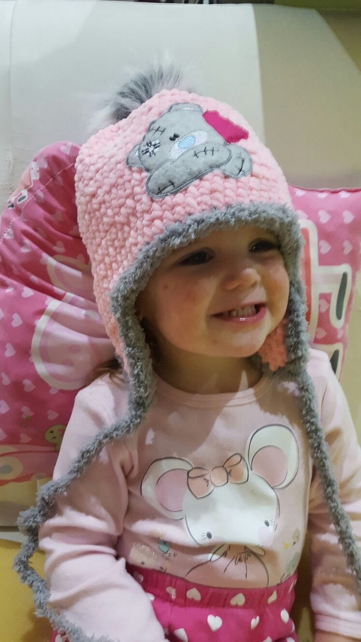 Crohet hat for my girl