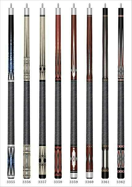 Cool pool cues