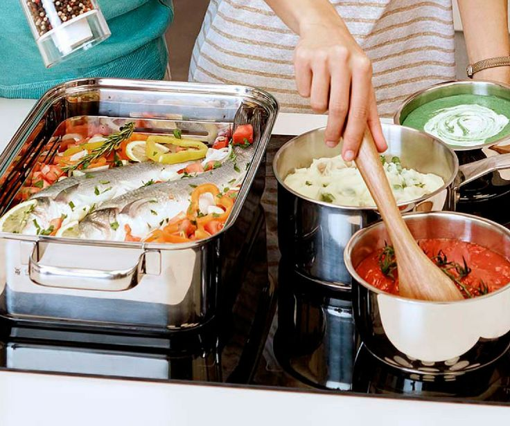 IndyFlex technology is perfect for your larger pans and pots! You can link two cooking zones to make larger cooking zones. Learn more: http://www.beko.com.au/cooking/cooktops/induction-cooktops.html #beko #inductioncooktops #cooking #kitchen
