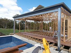pool & pergola construction