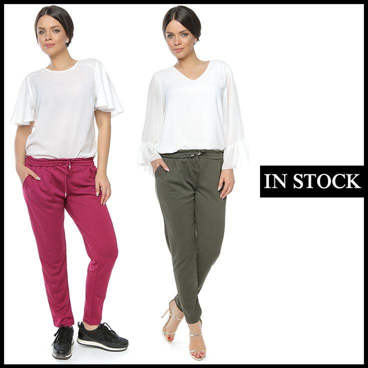Noul model de pantaloni se va vinde și va arăta foarte bine în magazinul tău. Comandă acum: http://www.adromcollection.ro/642-pantaloni-angro-6268.html