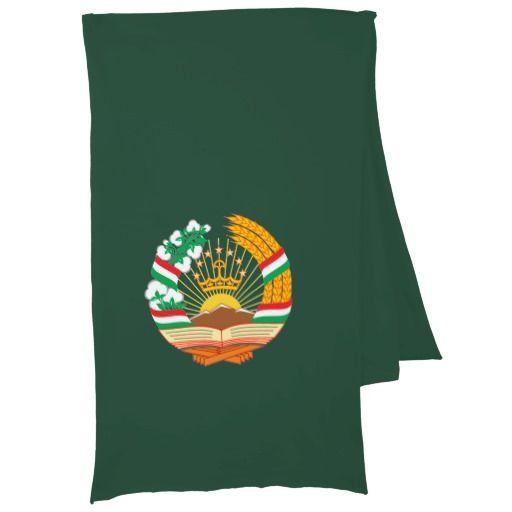 Tajik coat of arms scarves