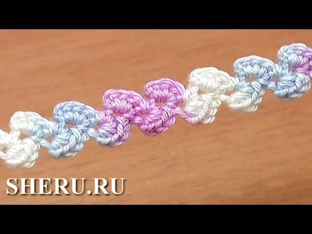 Crochet Cord Patterns Free Урок 41 Как вязать шнур крючком
