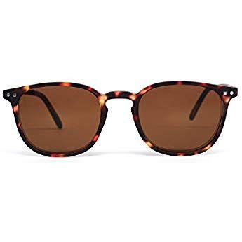 FEEGOO Occhiali da Sole Uomo Donna Unisex Eyewear Sunglasses Forma Quadrati  Tortoise 100% UV400 404a7c927665
