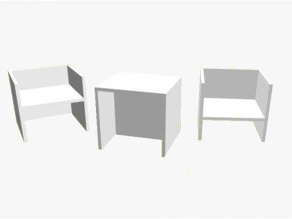 Židlička 3v1