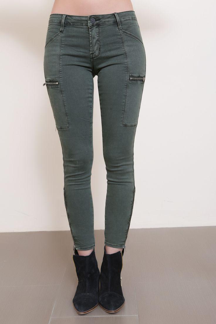 Walk This Way Cargo Skinny Jean