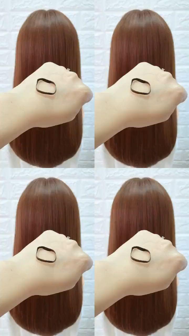 penteados para vídeos de cabelos longos