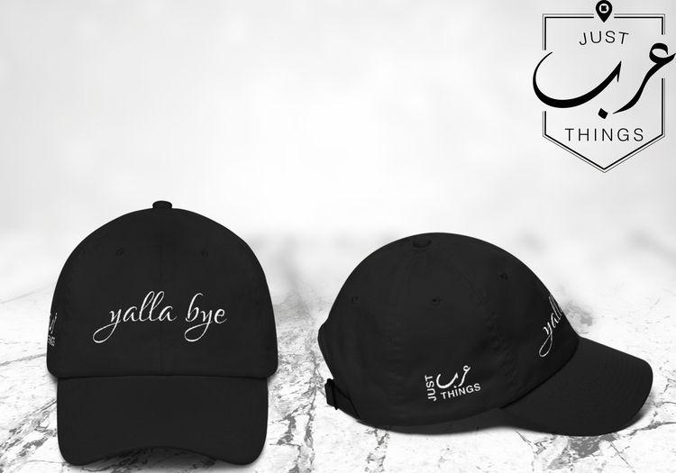 Yalla Bye - Unstructured Classic Dad Hat 2efe7b03f6f4