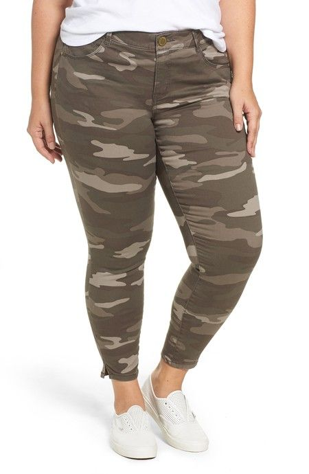8514ce88a064b Plus Size Camo Pants Outfits - Alexa Webb