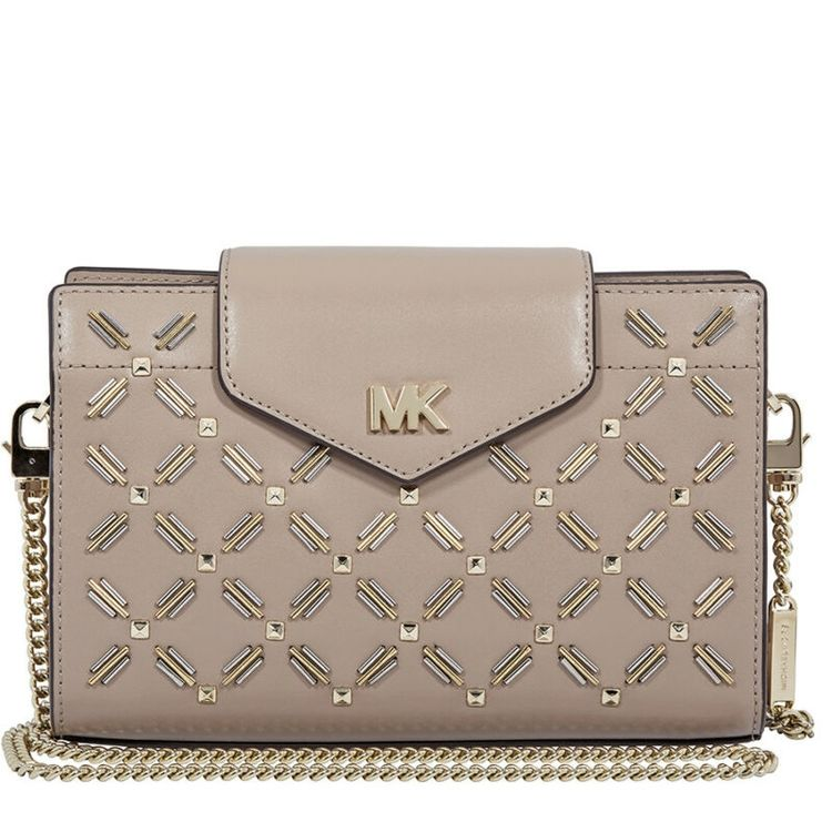 b25725d0da9017 US $110.00-Michael Kors Medium Floral Leather Crossbody Cl