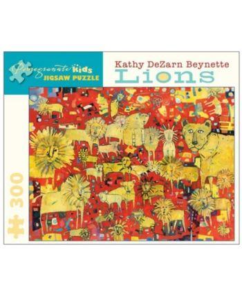 Kathy Dezarn Beynette Lions Puzzle 300 Pieces