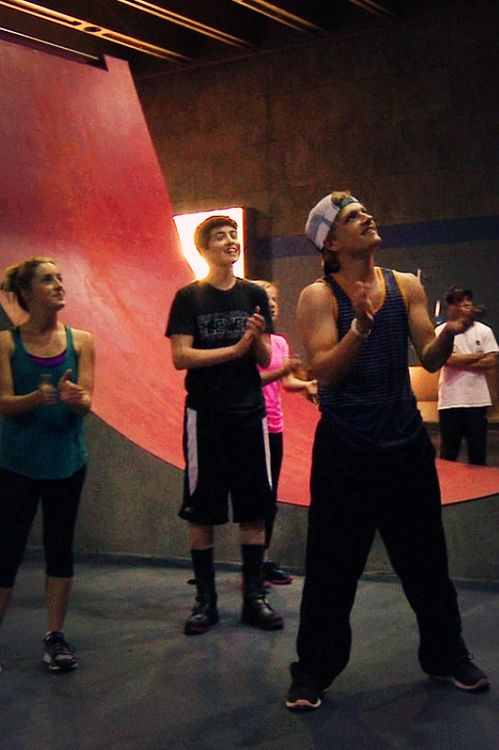 Josh Hutcherson looking hot in the training sessions.