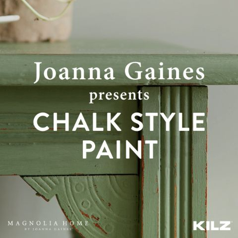 Add history and character to nearly any surface with Chalk Style Paint from Magnolia Home by Joanna Gaines®. With excellent coverage, this paint will turn even your biggest projects into simple weekend to-dos. Find your perfect hue at Target. Click below to learn more.