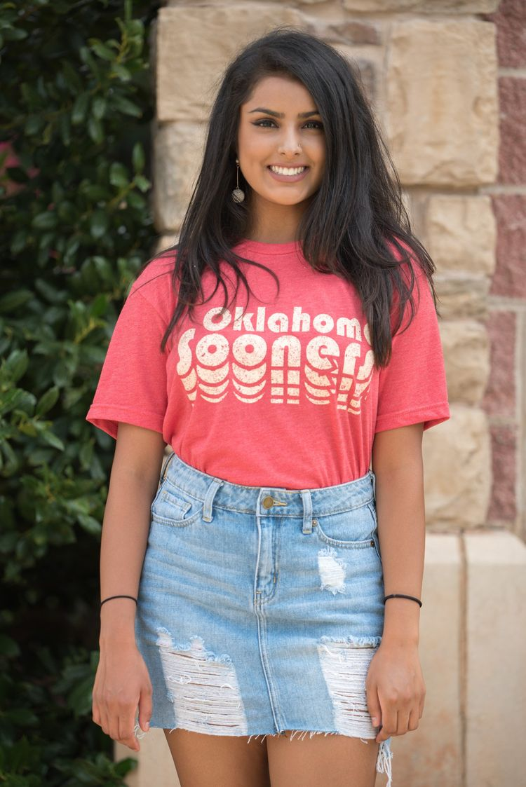 ec93e6b80d0 OU Sooners repeater unisex crew neck t-shirt red from Lush Fashion Lounge