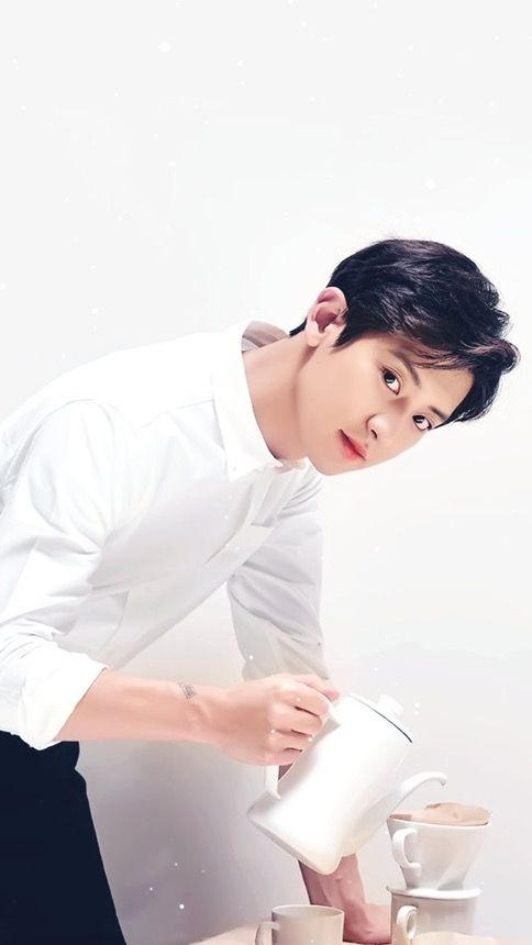 19+ Photoshoot Handsome Exo Chanyeol PNG