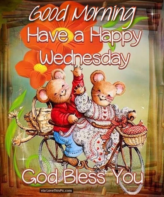Good Morning Have A Happy Wednesday God Bless You Good Morn