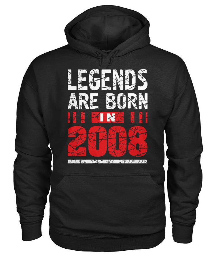 Legends Are Born In 2008 10 Years Old Bd
