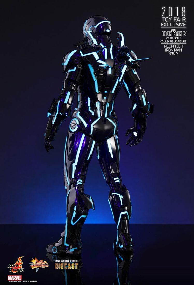Iron Man Neon Tech - O Homem de Ferro inspirado em Tron da