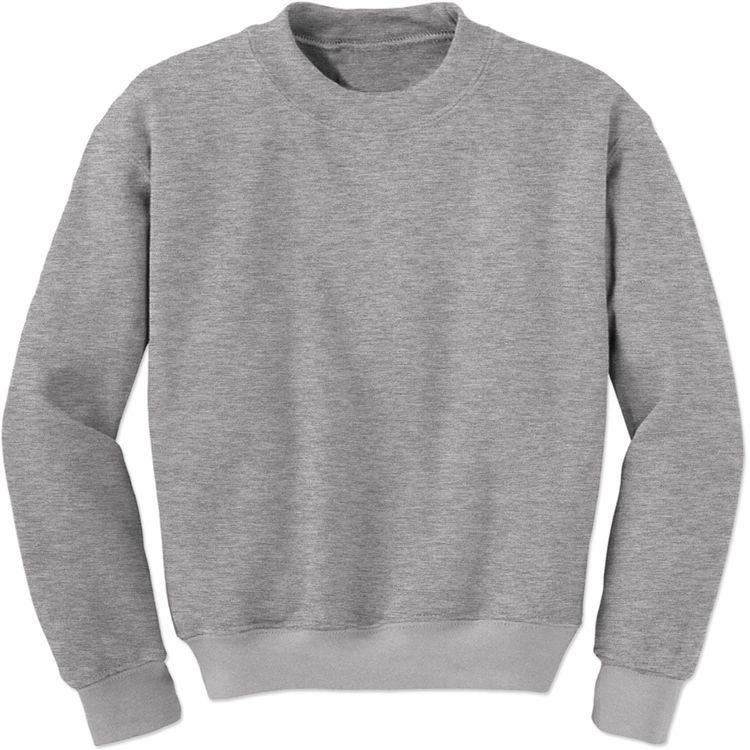 d728897835 Basics - Plain Blank Adult Crewneck Sweatshirt