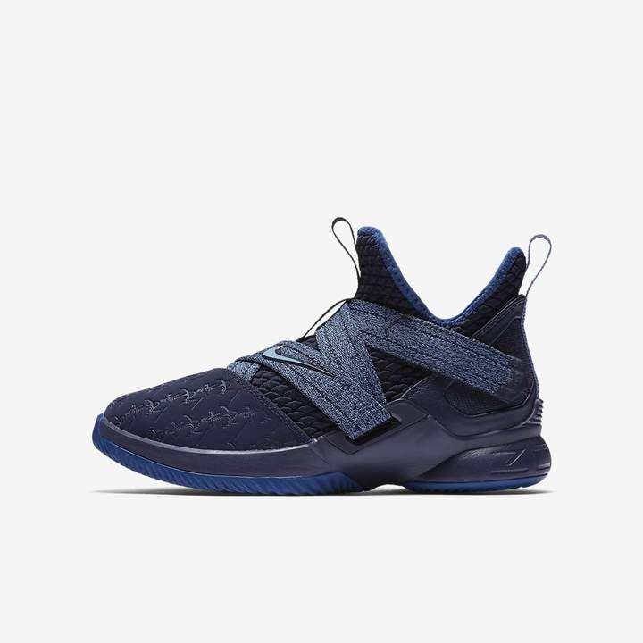 8162e30617c5 Nike Big Kids  Basketball Shoe LeBron Soldier XII
