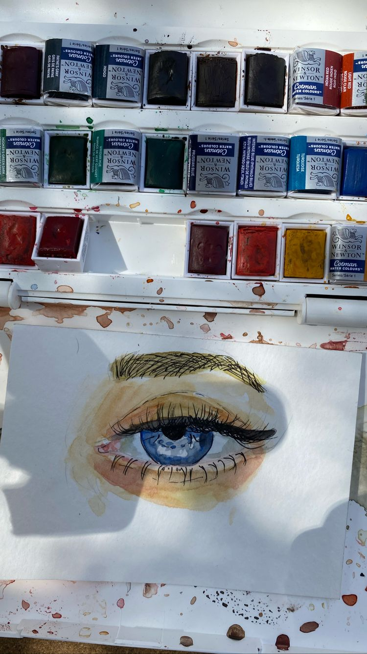 Drawings Eyes Water Color An Immersive Guide By Abx