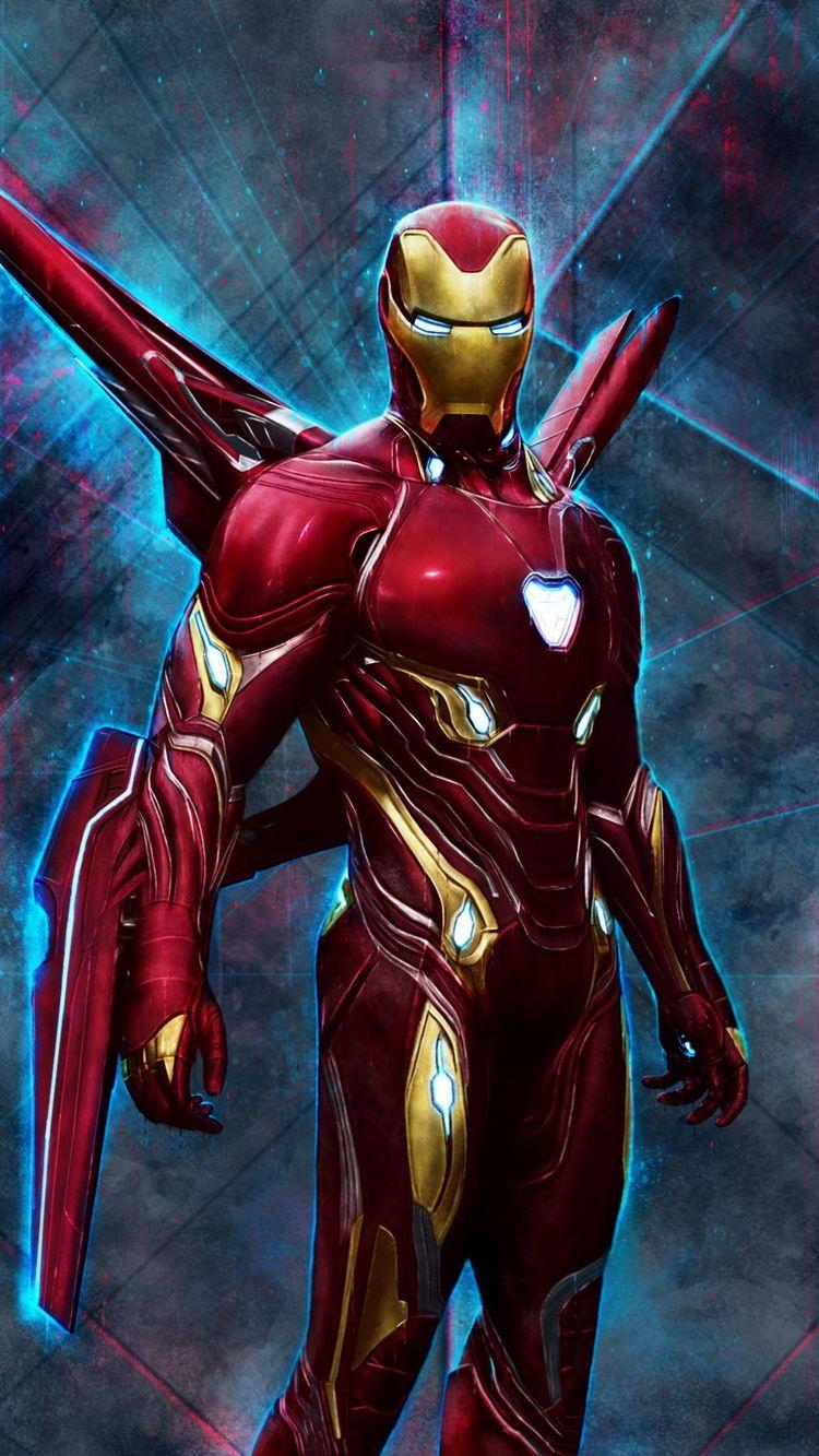 Iron Man Mark 50 Red Armor IPhone Wallpaper