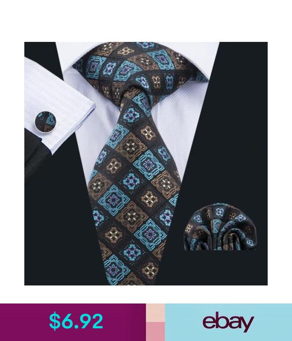 US012 Men Purple Paisley Tie Necktie Pocket Square Hanky Handkerchief Set Lot