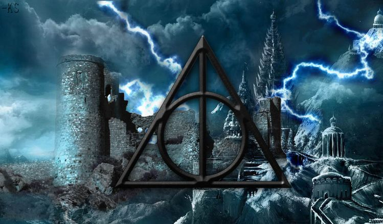 deathly hallows symbol wallpaper nanozine 1600 1000 deathly