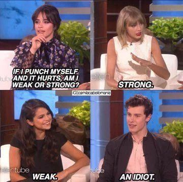 I hate Shawn Mendes but he has a point. Taylor is a bitch too.