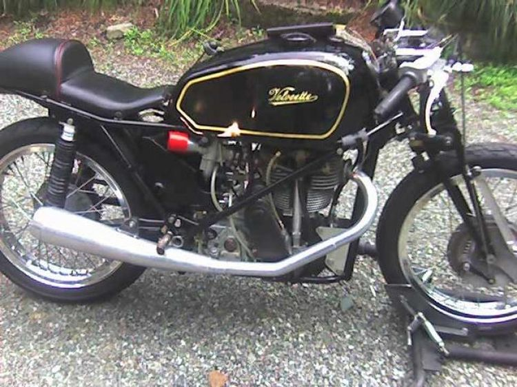 Velocette KTT Classic Motorcycle Pictures