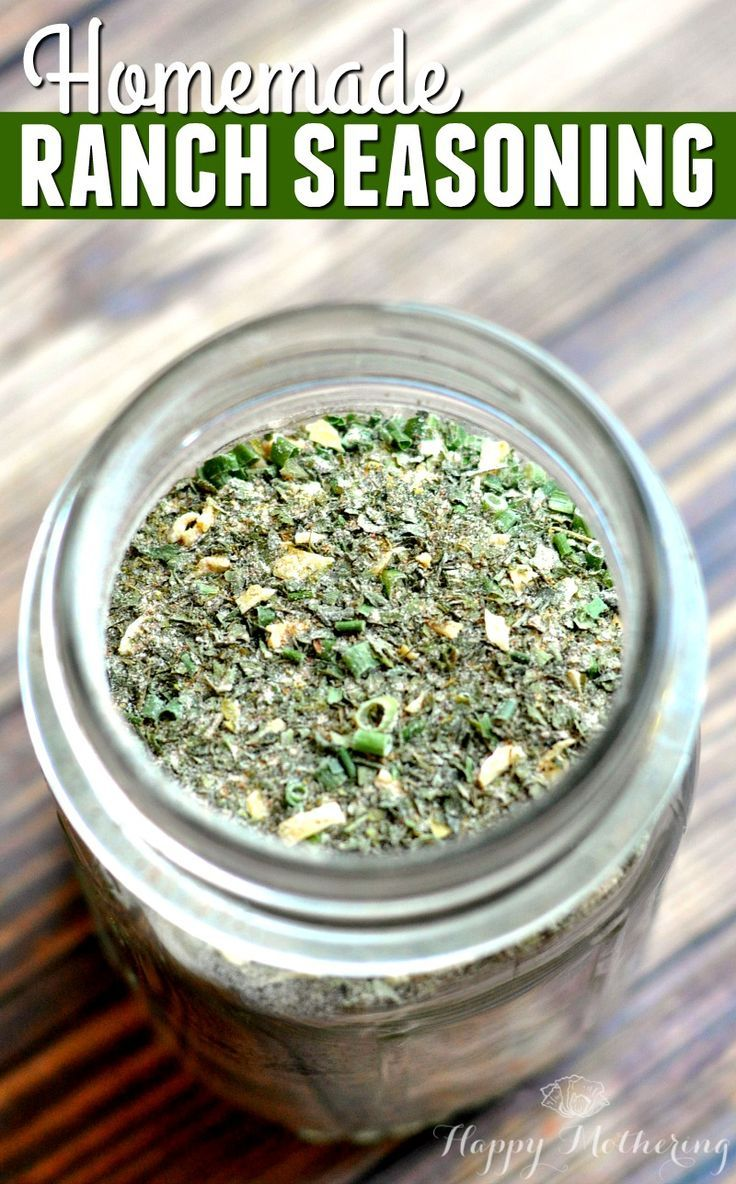 Homemade Ranch Seasoning Blend