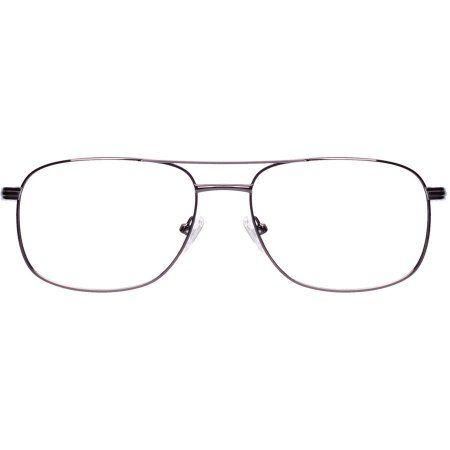 Adolfo Mens Prescription Glasses, Private Gunmetal, Silver
