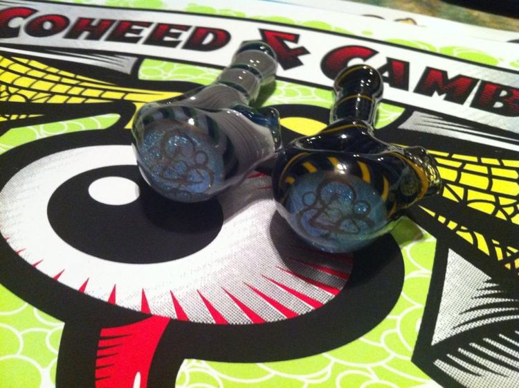 Coheed and Cambria limited edition glass pipes