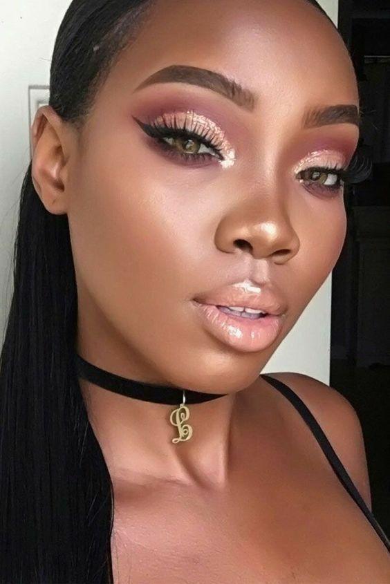 makeup looks for black women african americans dark skin