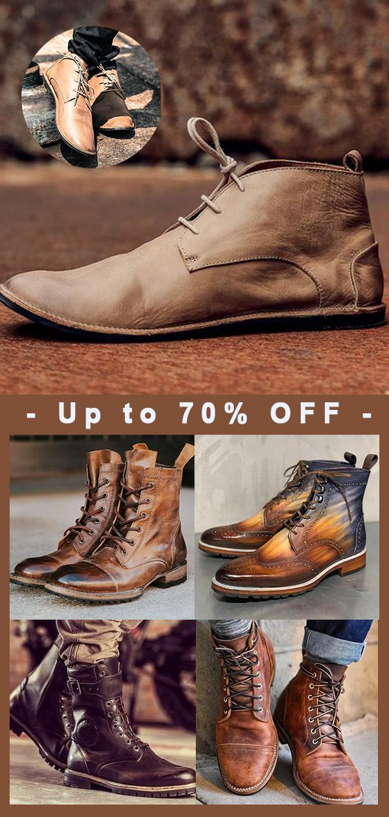 Casual Mens Work Boots.   Now 50% OFF   Limited Time!   Shop Now!   Mofylook New Arrivals.