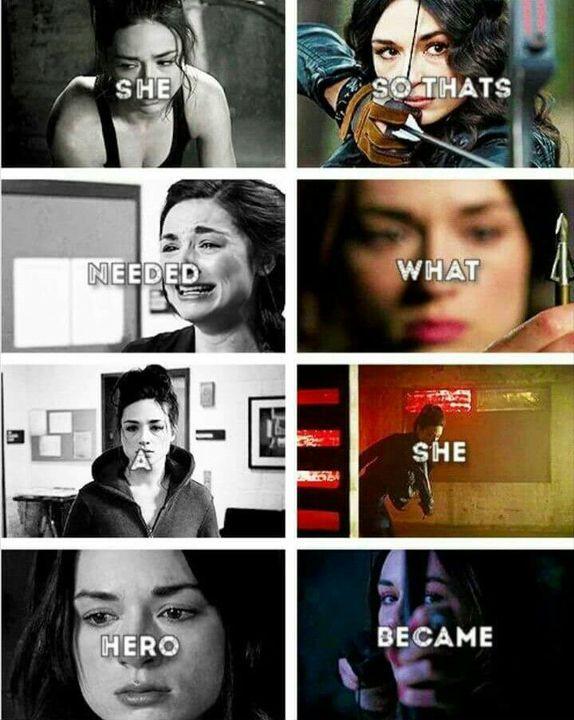 Ella necesitaba un heroe, asi que en eso se convirtio