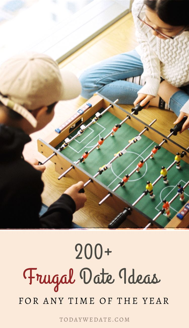 200+ cheap date ideas for the whole year