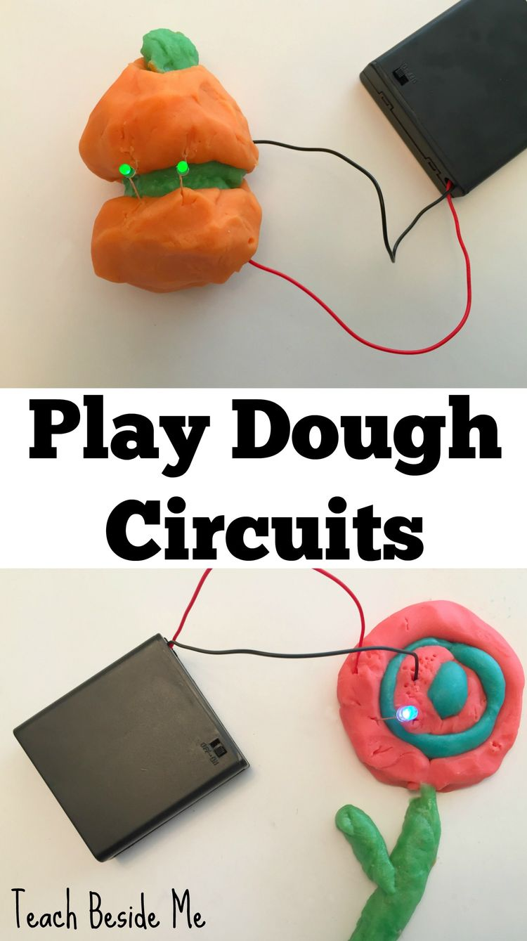 Easy Play Dough Circuits Projects Project Ideas Parallel Circuit